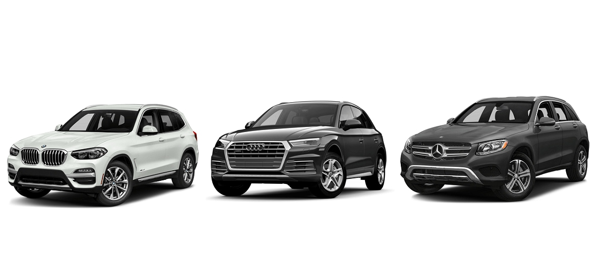 BMW X3 Vs. Audi Q5 Vs. Mercedes Benz GLC 300