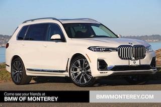 New 2020 BMW X7 xDrive40i SAV Seaside, CA