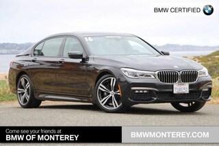Certified Pre-Owned 2016 BMW 750i Seaside, CA