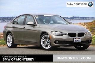 Certified Pre-Owned 2017 BMW 320i Seaside, CA