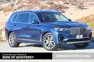 New 2021 BMW X7 xDrive40i SUV Seaside, CA