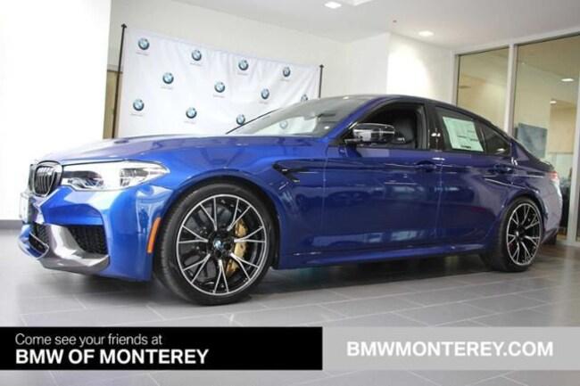 New 2019 BMW M5 Competition Sedan Seaside, CA