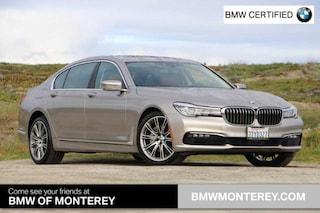 Certified Pre-Owned 2016 BMW 740 Seaside, CA