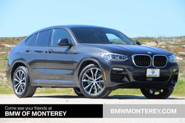 New 2019 BMW X4 xDrive30i Sports Activity Coupe Seaside, CA