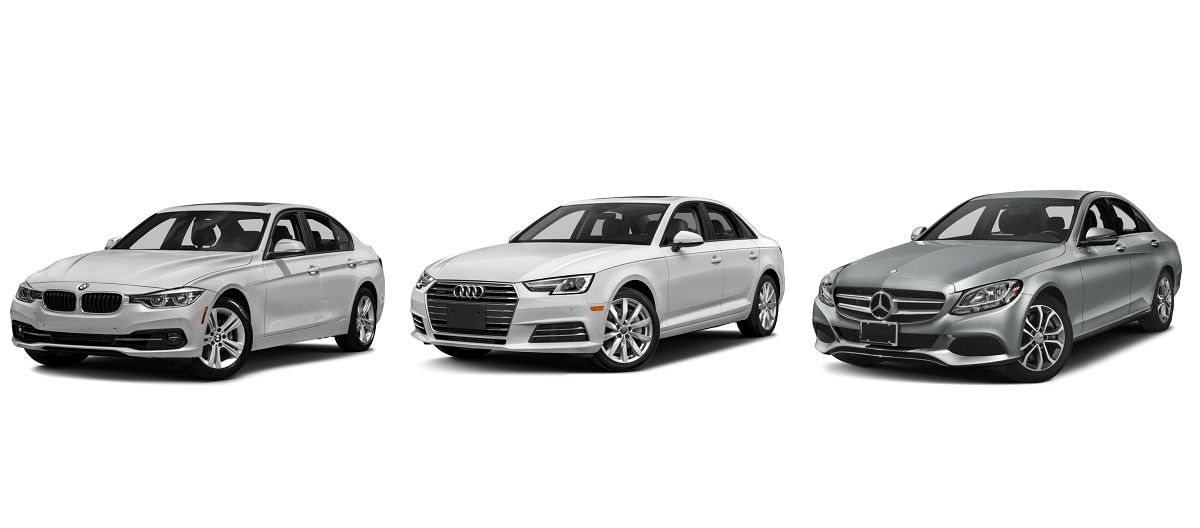 BMW 3 Series Vs. Audi A4 Vs. Mercedes Benz C Class