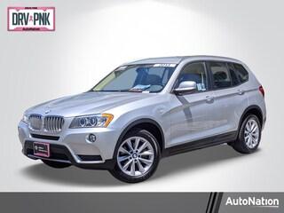 2013 BMW X3 xDrive28i SAV in [Company City]