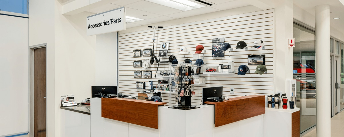 BMW of Mountain View Parts Department