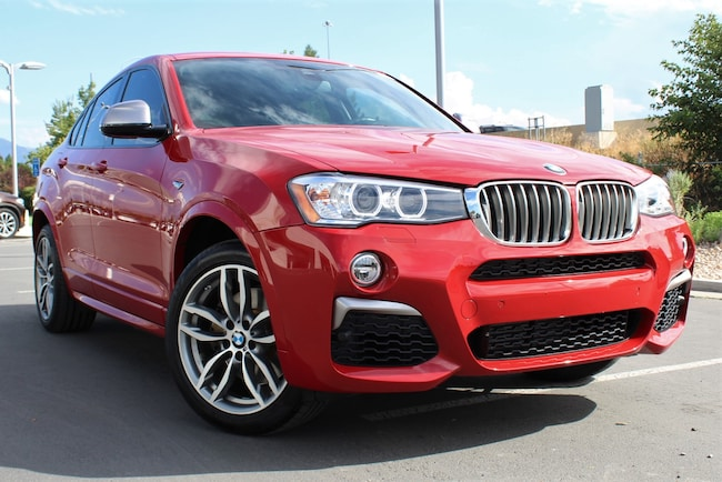 2018 BMW X4 M40i Sports Activity Coupe Sports Activity Coupe