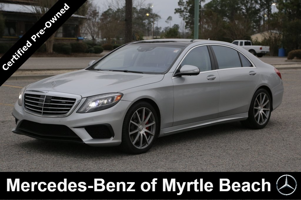 2016 Mercedes-Benz AMG S 4MATIC Sedan Myrtle Beach South Carolina