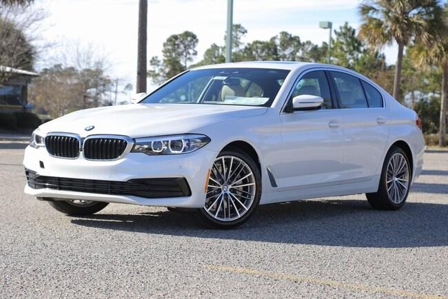 New 2019 BMW 530i 530i Sedan In Myrtle Beach