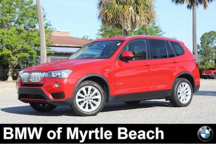 2017 BMW X3 sDrive28i SAV Myrtle Beach South Carolina