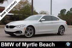Used 2017 BMW 440i xDrive Coupe WBA4P3C57HK528332 Myrtle Beach South Caroling