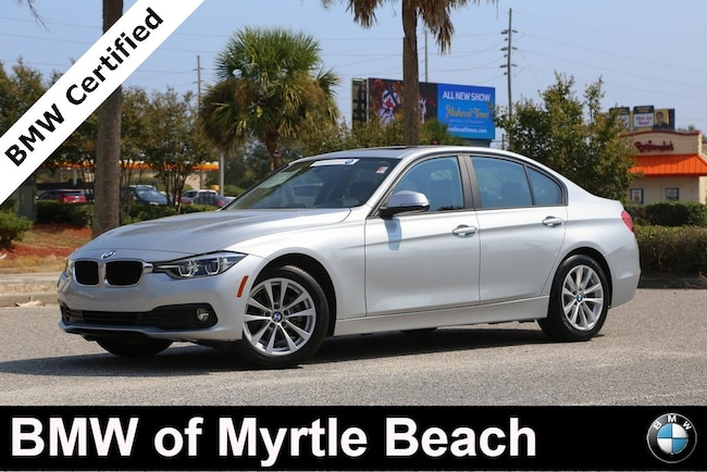 Certified Used 2018 BMW 320i Sedan In Myrtle Beach