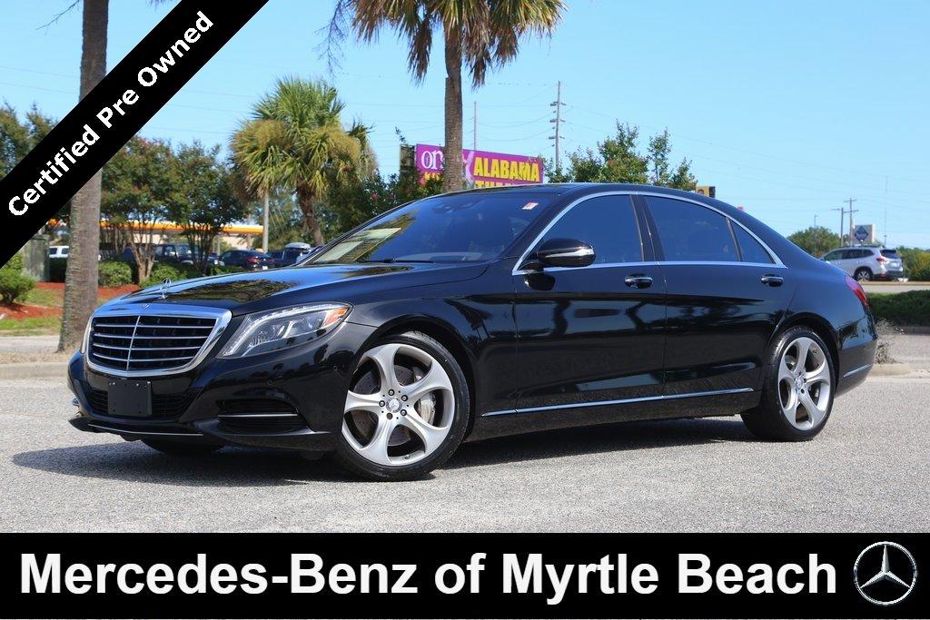 2015 Mercedes-Benz S-Class S 550 Sedan Myrtle Beach South Carolina