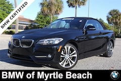 Certified Pre-Owned 2016 BMW 228i Convertible 6886 Myrtle Beach South Carolia