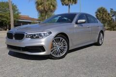 New 2019 BMW 540i 540i Sedan WBAJE5C57KG919799 Myrtle Beach South Carolina