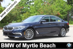Certified Pre-Owned 2018 BMW 540i Sedan 7676 Myrtle Beach South Carolia