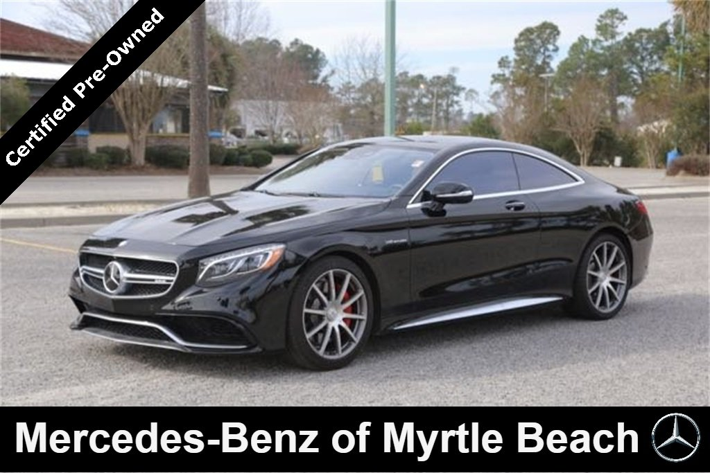 2016 Mercedes-Benz AMG S 4MATIC Coupe Myrtle Beach South Carolina