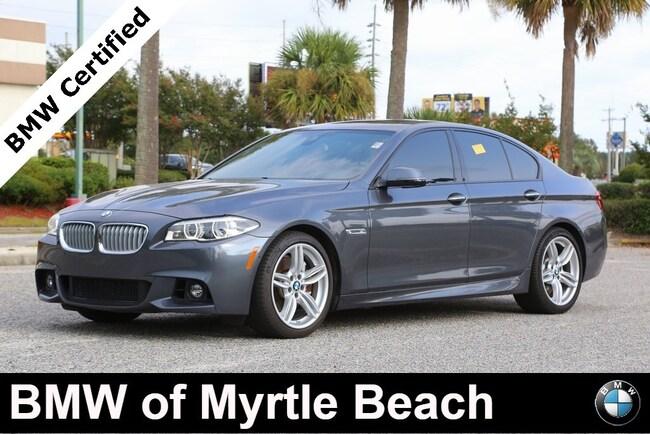 Certified Used 2016 BMW 550i Sedan In Myrtle Beach