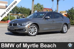 Certified Pre-Owned 2016 BMW 320i i Sedan 6926 Myrtle Beach South Carolia
