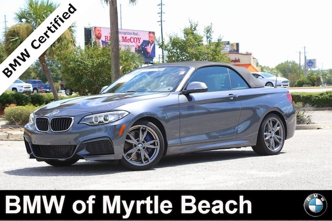 Certified Used 2016 BMW M235i Convertible In Myrtle Beach
