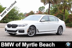 Certified Pre-Owned 2018 BMW 750i xDrive Sedan 20038A Myrtle Beach South Carolia