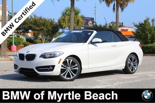 Certified Used 2016 BMW 228i Convertible In Myrtle Beach