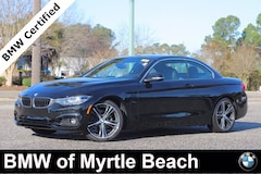 Certified Pre-Owned 2019 BMW 430i Convertible 7512 Myrtle Beach South Carolia