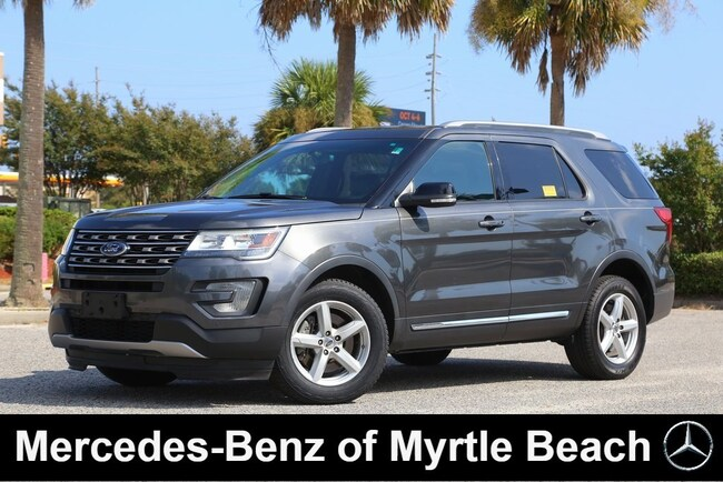 Used 2016 Ford Explorer XLT SUV in Myrtle Beach