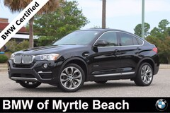 Certified Pre-Owned 2018 BMW X4 xDrive28i Sports Activity Coupe 7382 Myrtle Beach South Carolia