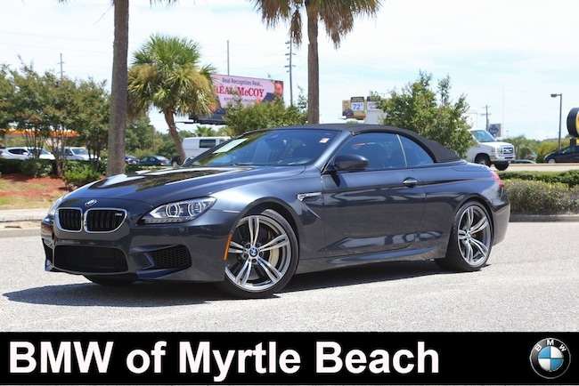 Used 2014 BMW M6 Convertible in Myrtle Beach