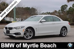 Certified Pre-Owned 2018 BMW 430i xDrive Convertible 7496 Myrtle Beach South Carolia