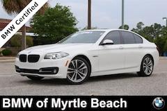 Certified Pre-Owned 2016 BMW 528i Sedan 6937 Myrtle Beach South Carolia