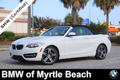 Used 2017 BMW 230i Convertible WBA2K9C36H7A26456 Myrtle Beach South Caroling