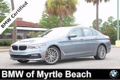 Certified Pre-Owned 2017 BMW 530i Sedan 7342 Myrtle Beach South Carolia