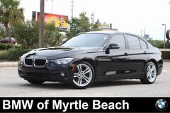 Used 2016 BMW 320i Sedan WBA8E1G57GNU11689 Myrtle Beach South Carolina