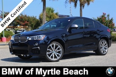 Certified Pre-Owned 2017 BMW X4 M40i Sports Activity Coupe 6999 Myrtle Beach South Carolia