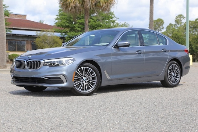 New 2019 BMW 530i Sedan In Myrtle Beach