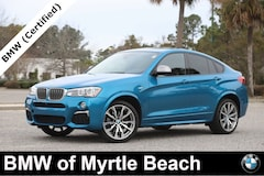 Certified Pre-Owned 2017 BMW X4 M40i Sports Activity Coupe 7228 Myrtle Beach South Carolia