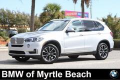 Certified Pre-Owned 2017 BMW X5 xDrive35i SAV 20222A Myrtle Beach South Carolia