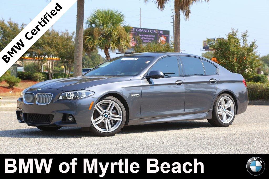 2016 BMW 550i Sedan Myrtle Beach South Carolina