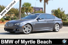 Certified Pre-Owned 2016 BMW 550i Sedan 7021 Myrtle Beach South Carolia