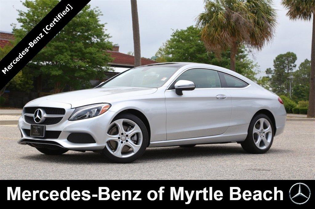 2017 Mercedes-Benz C-Class C 300 4MATIC Coupe Myrtle Beach South Carolina