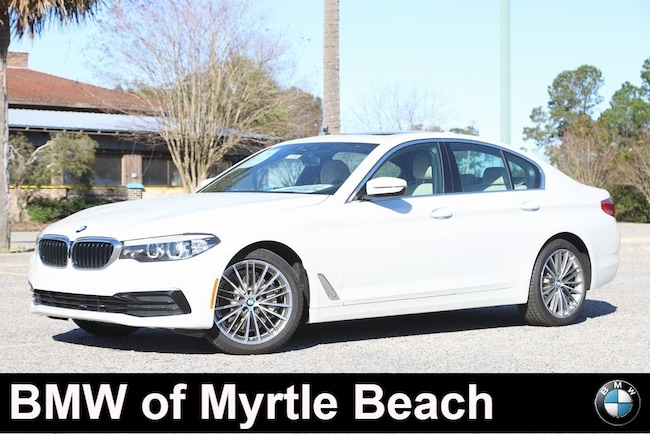New 2019 BMW 530i Sedan for sale in Myrtle Beach, SC