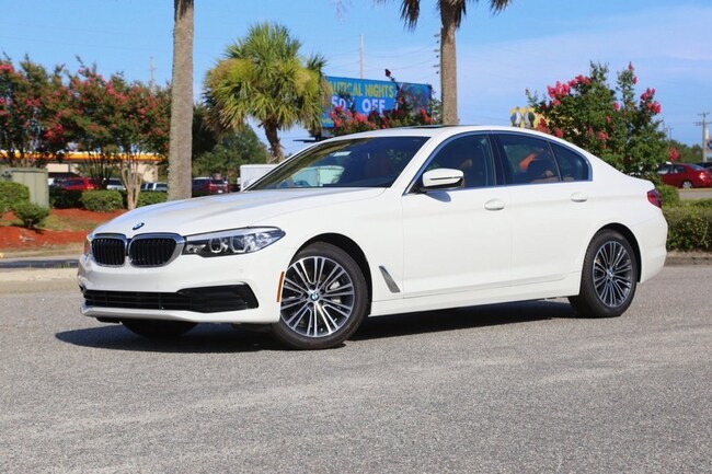 New 2019 BMW 540i Sedan In Myrtle Beach