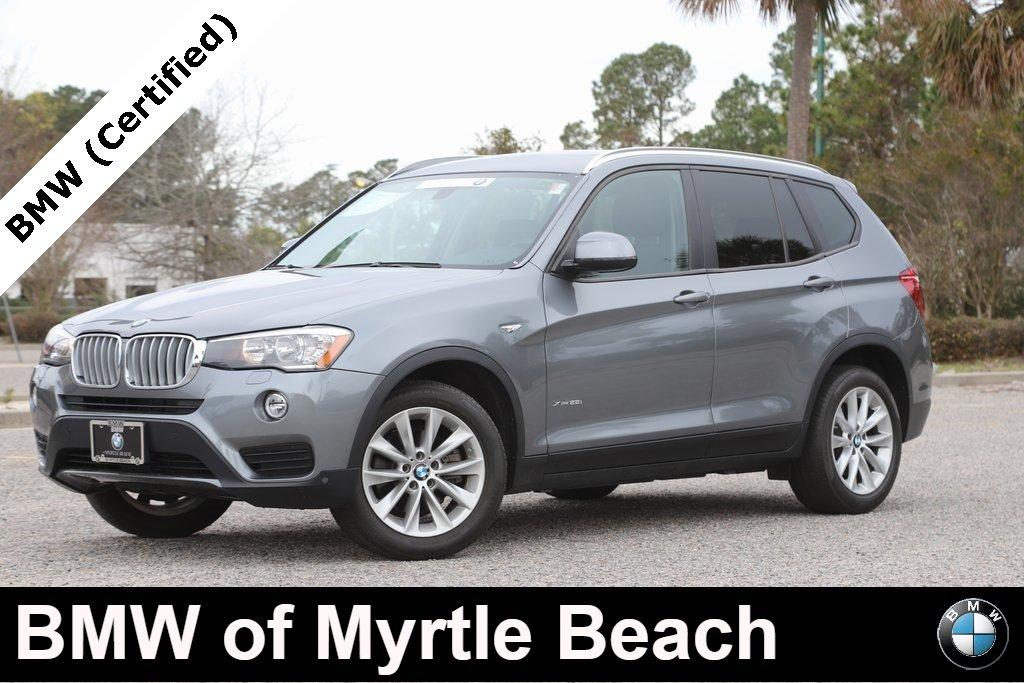 2017 BMW X3 xDrive28i SAV Myrtle Beach South Carolina