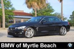 Used 2015 BMW 435i Convertible WBA3T3C55FP738743 Myrtle Beach South Caroling