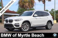 Certified Pre-Owned 2018 BMW X3 xDrive30i SAV 7387 Myrtle Beach South Carolia