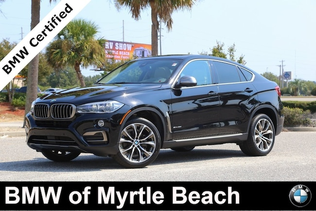 Certified Used 2016 BMW X6 sDrive35i Sports Activity Coupe In Myrtle Beach