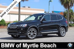 Certified Pre-Owned 2017 BMW X3 xDrive28i SAV 7413 Myrtle Beach South Carolia